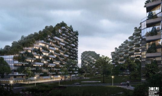 """China Is Building A """"Forest City"""" To Fight Air Pollution"""