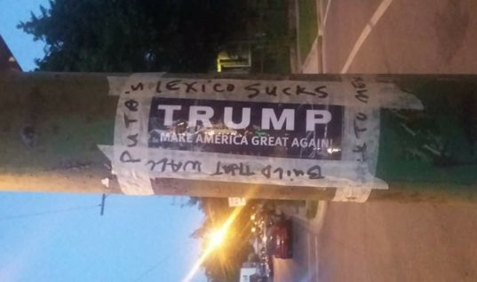 I Refuse To Allow Trump Supporters' Messages of Hate in My Community