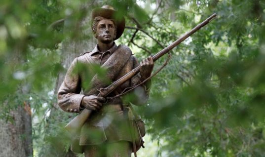 The Confederate Statues Have Been Easily Falling Because They're Made of Cheap Material