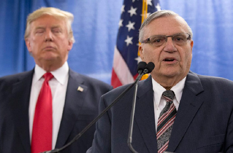 Trump Is 'Seriously Considering' Racist Sheriff For First Pardon