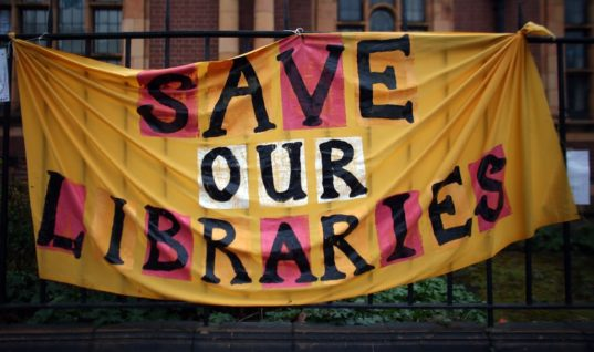 Brits, Help Save Your Local Library