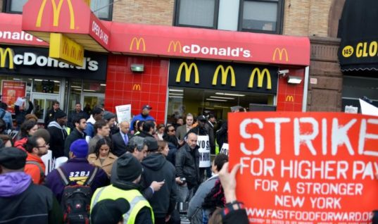 There's a McDonald's Strike in the UK And We're Lovin' It!
