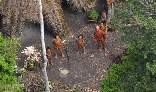 Uncontacted Tribe Massacred in Brazil
