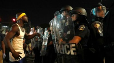 Many Arrested at St. Louis Demonstrations
