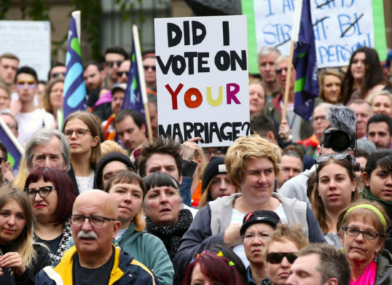 """We Are the Silent Majority"" – The Australian Campaign Supporting Only Heterosexual Marriage, the Loudest Majority of All"