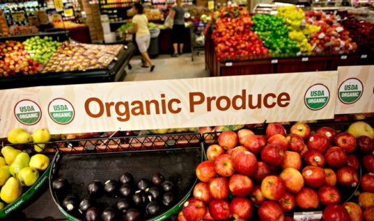 When Will the Demand for Organic Food Cause Prices to Decline?