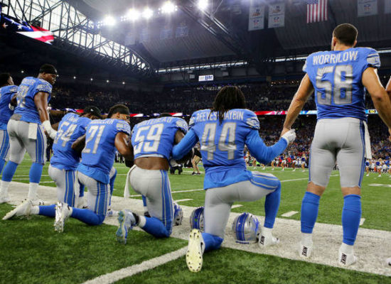 Taking the Knee Is So Much Bigger Than Football