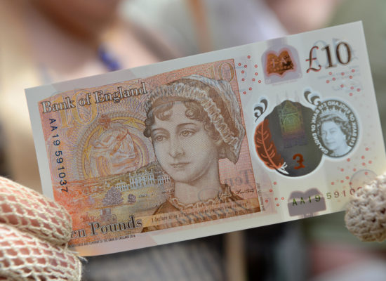 People Are Donating Their New Jane Austen Ten-Pound Note To Women's Charities