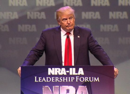 We Shouldn't Ignore That Trump Recently Signed a Bill To Nullify Obama-Era Gun Control Regulation