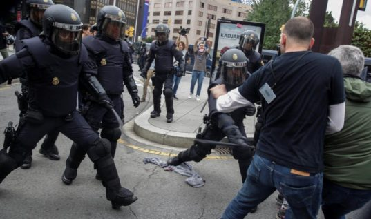 Hundreds Injured in Catalonia By Spanish Police