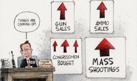 Bloody Money: How Gun Violence Makes the NRA and Gun Companies Rich