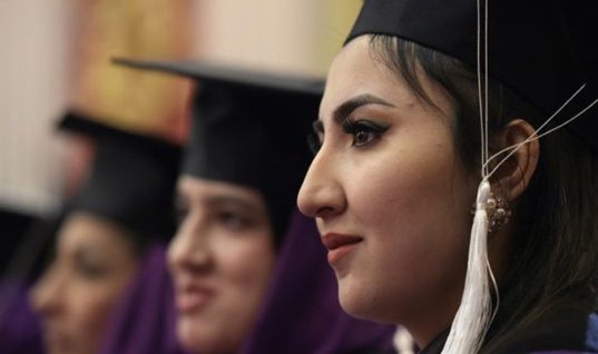 First Group of Afghan Women Graduated From a Women's Studies Program