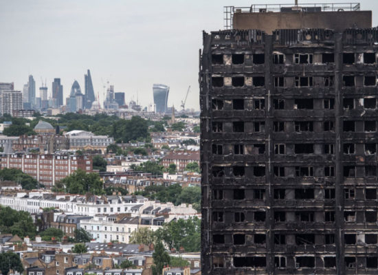 Tories Ask Rich Londoners to Rate How Important the Grenfell Tower Fire Is to Them
